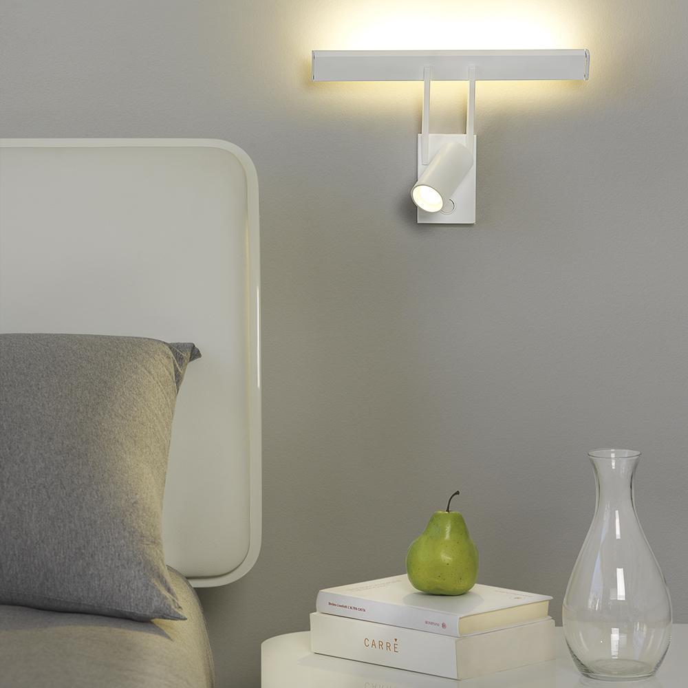 Tub LED APLIQUE LED 1x4W.+8x1W, BLANCO