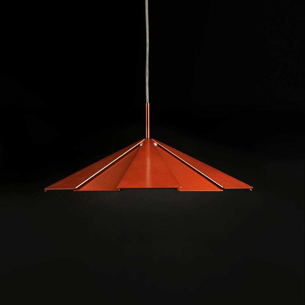 Pam Lámpara Colgante Ø411mm LED 16W Cobre