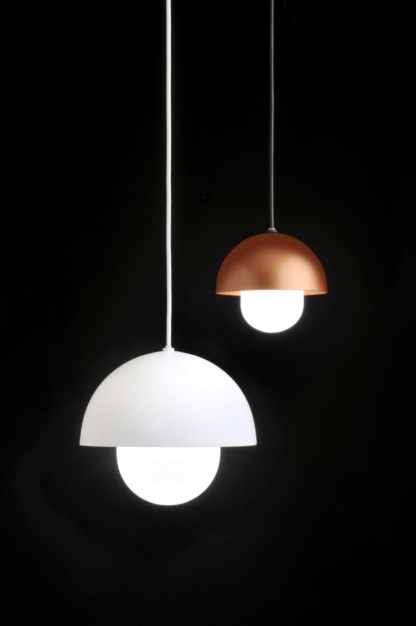 Boleta Lámpara colgante LED 7W Ø145 Lacado blanco texturado