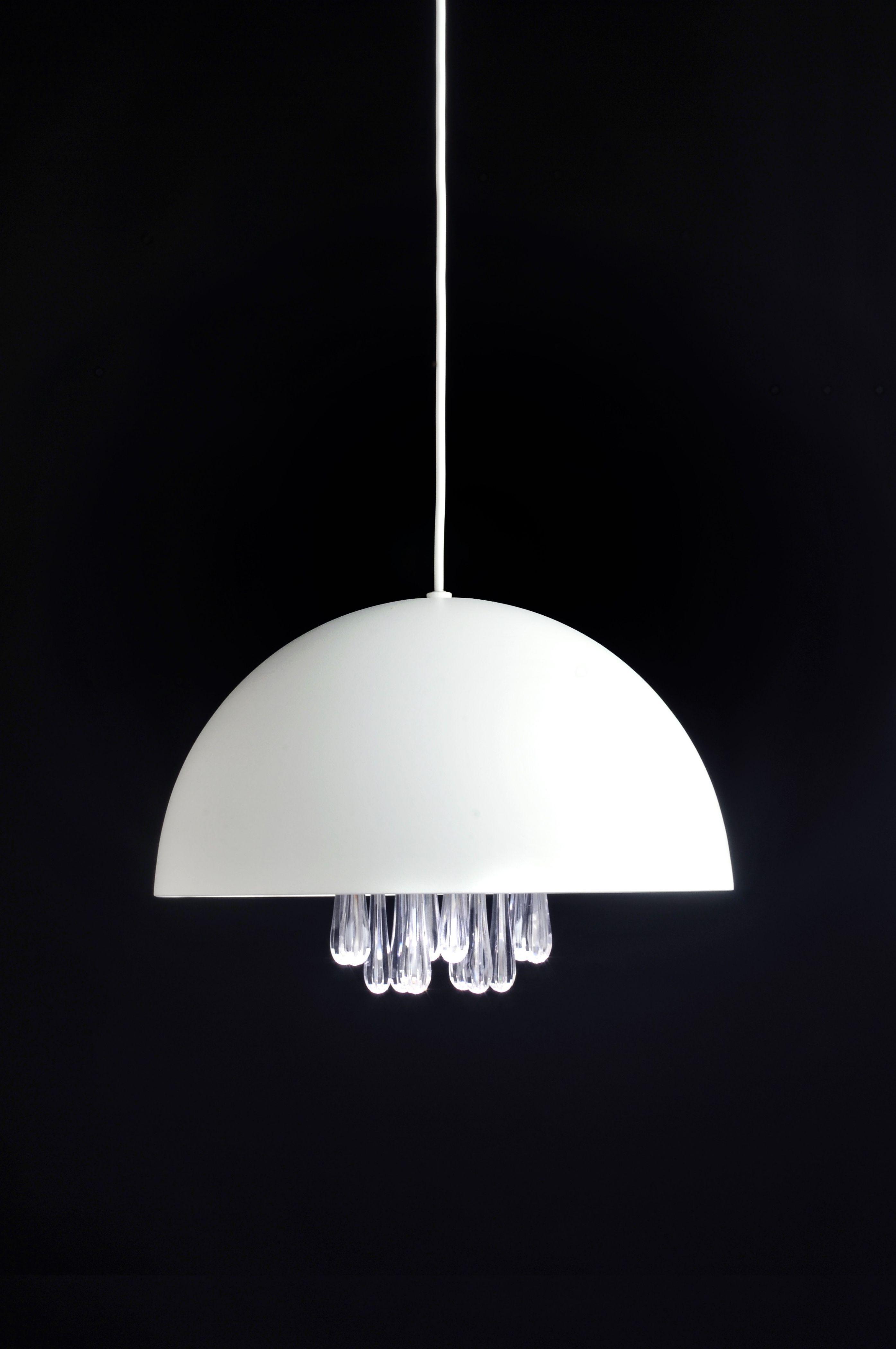 Medusa Lámpara Colgante LED 11W Lacado Blanco