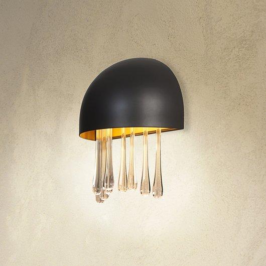 Medusa aplique LED 11W Lacado Gris