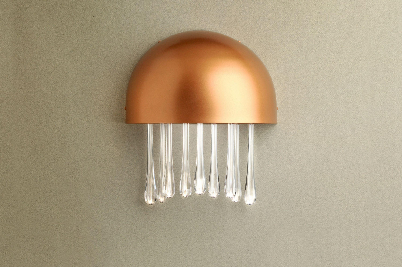 Medusa aplique LED 11W Lacado Cobre