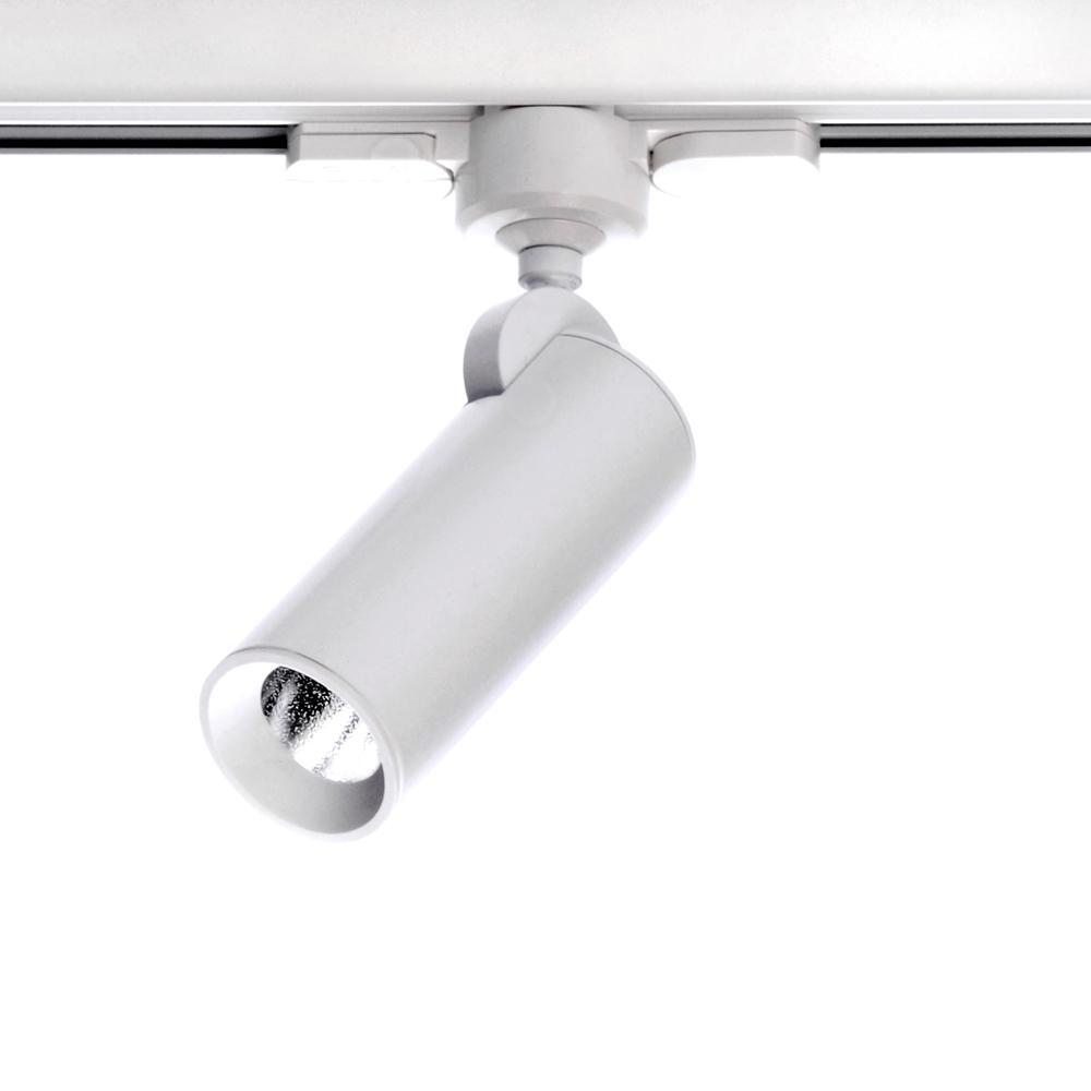 Tub LED FOCO 1L.LED 4W.CARRIL,AC.INX1P