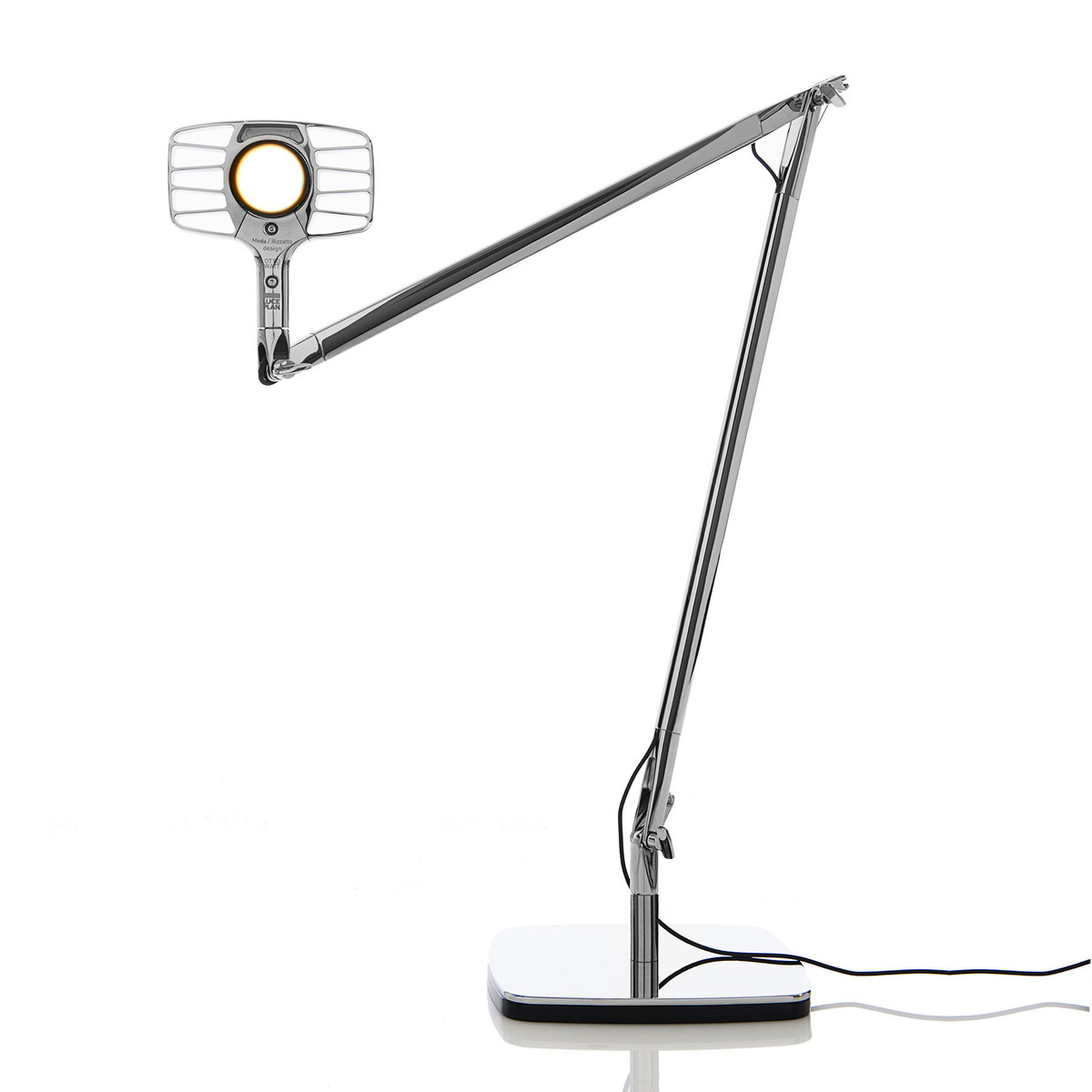 Otto Watt (Solo Structure) Table Lamp LED 10W Dimmer - Mirror