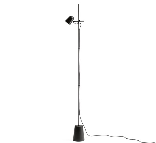 Counterbalance (Solo Structure) Floor Lamp LED 12W - Black