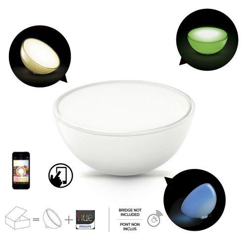 Philips Hue Go - luce di Ambiente Portátil Conectada, Controlable Vía Smartphone, 16 Millones di Colores