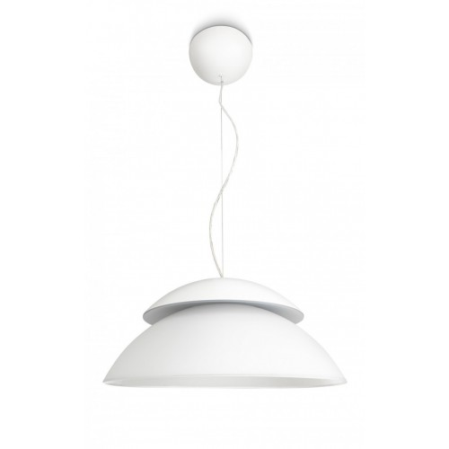 Philips Hue Beyond - Pendant Lamp Conectada, Controlable Vía Smartphone, 16 Millones of Colores