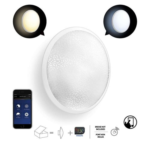 Philips Hue Phoenix - Spotlight Conectado, Controlable Vía Smartphone light warm O cold dimmable/programable