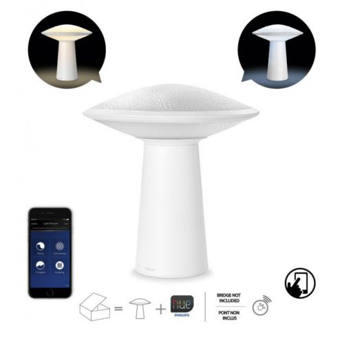 Philips Hue Phoenix - Lamp of table Conectada, Controlable Vía Smartphone, light warm O cold dimmable/programable