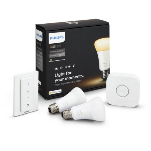 Philips Hue Blanca Ambiental - Iluminación Inteligente (color Blanco, 220 - 240 V)