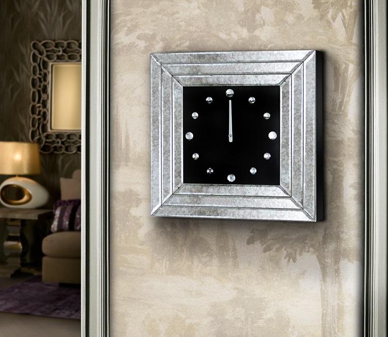 Pisa Reloj de pared 50,5x50,5x5,5cm - Acabado antiguo