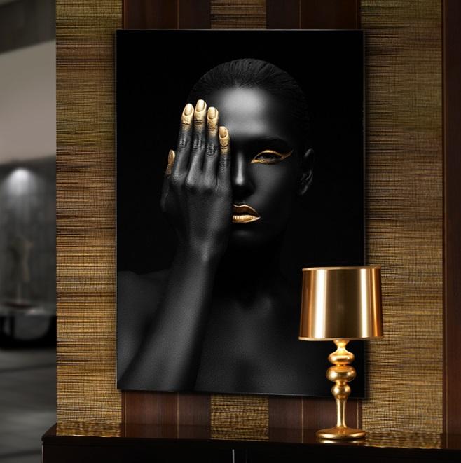 Oronegro Fotografía 80x120x1cm cristal brillo