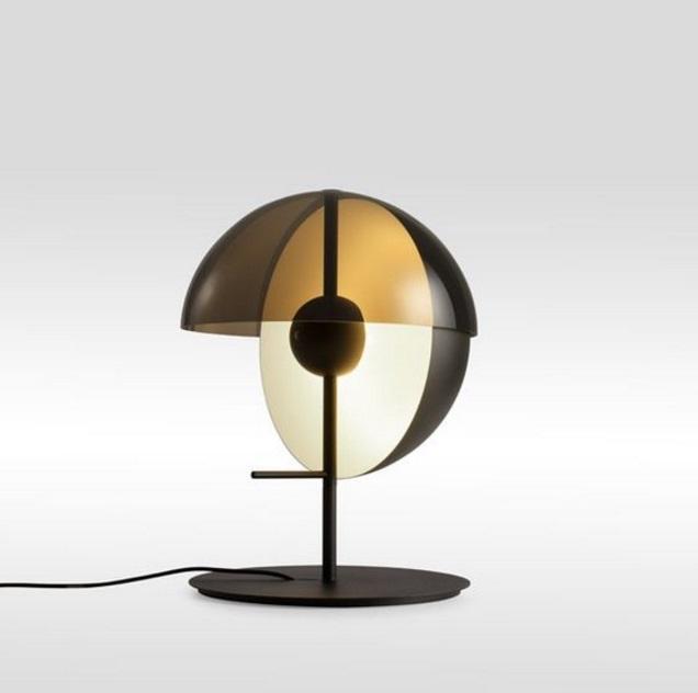 Theia M Lampe de table ø30cm LED SMD 7,8W - Noir