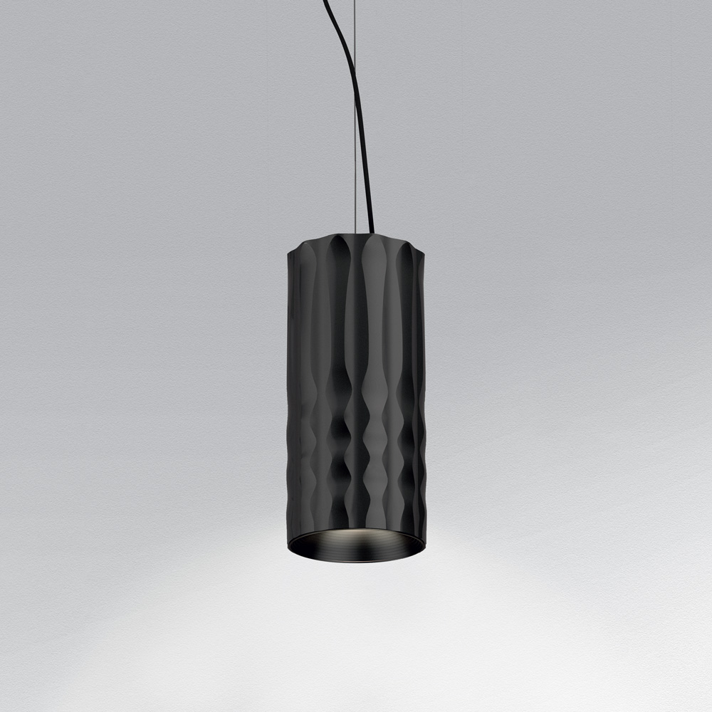 Fiamma 30 Lámpara Colgante LED COB 28W Negro