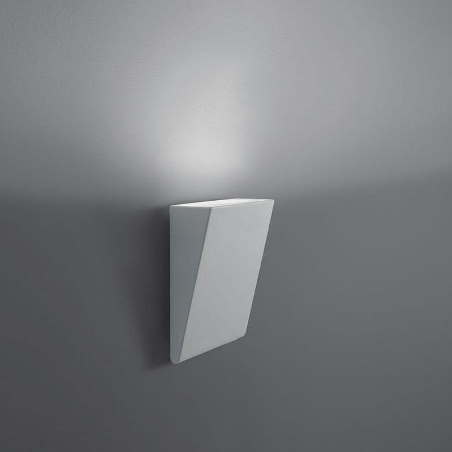 Cuneo Aplique Exterior LED 17W Gris claro
