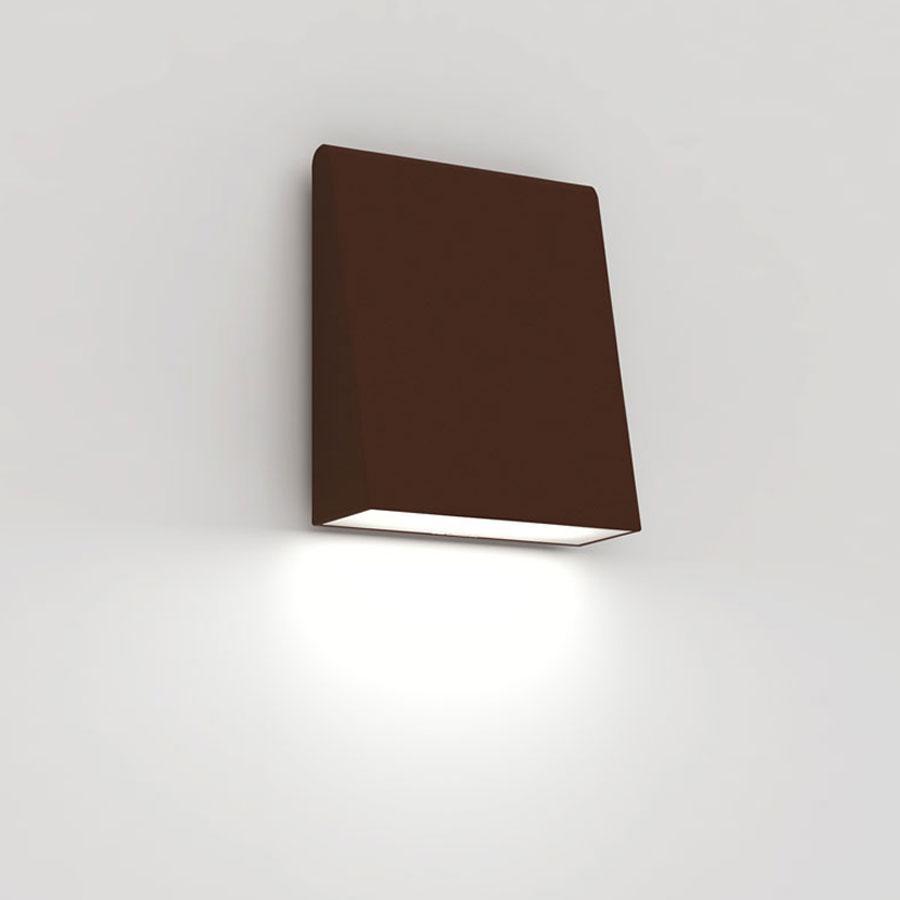 Cuneo Aplique Exterior LED 17W Rojo Robín