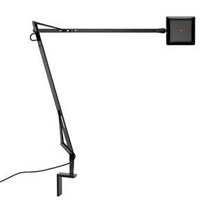 Kelvin Edge Aplique con soporte a pared FLAT PANEL 8W - Negro brillante