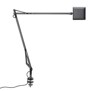 Kelvin Edge Sobremesa con soporte de mesa cable oculto FLAT PANEL 8W - Antracita