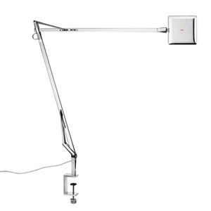 Kelvin Edge Sobremesa con mordaza FLAT PANEL 8W - Cromo