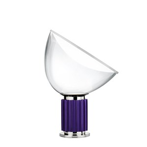 Taccia Small Sobremesa LED 16W regulable - Anodizado violeta