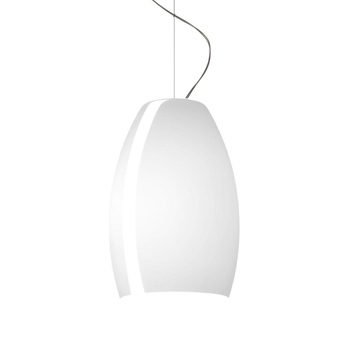 Buds 1 Lámpara colgante cable 5 metros 1x23W E27 Ø12cm Blanco cálido