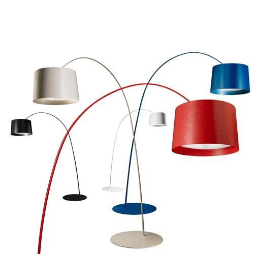 Twiggy (Accesorio) Pantalla para modelo lámpara de pie Grande Twiggy Carmesí