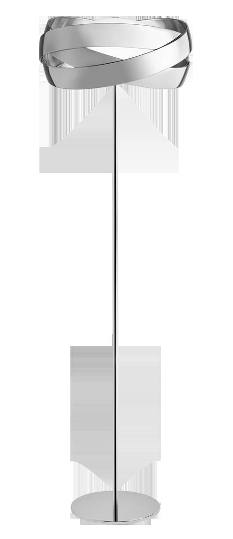 Siso P 2998 lâmpadas de Lâmpada de assoalho Cromo