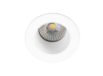 CLEAR EMPOTRABLE BLANCO 1 LED 7W 3000K 36°