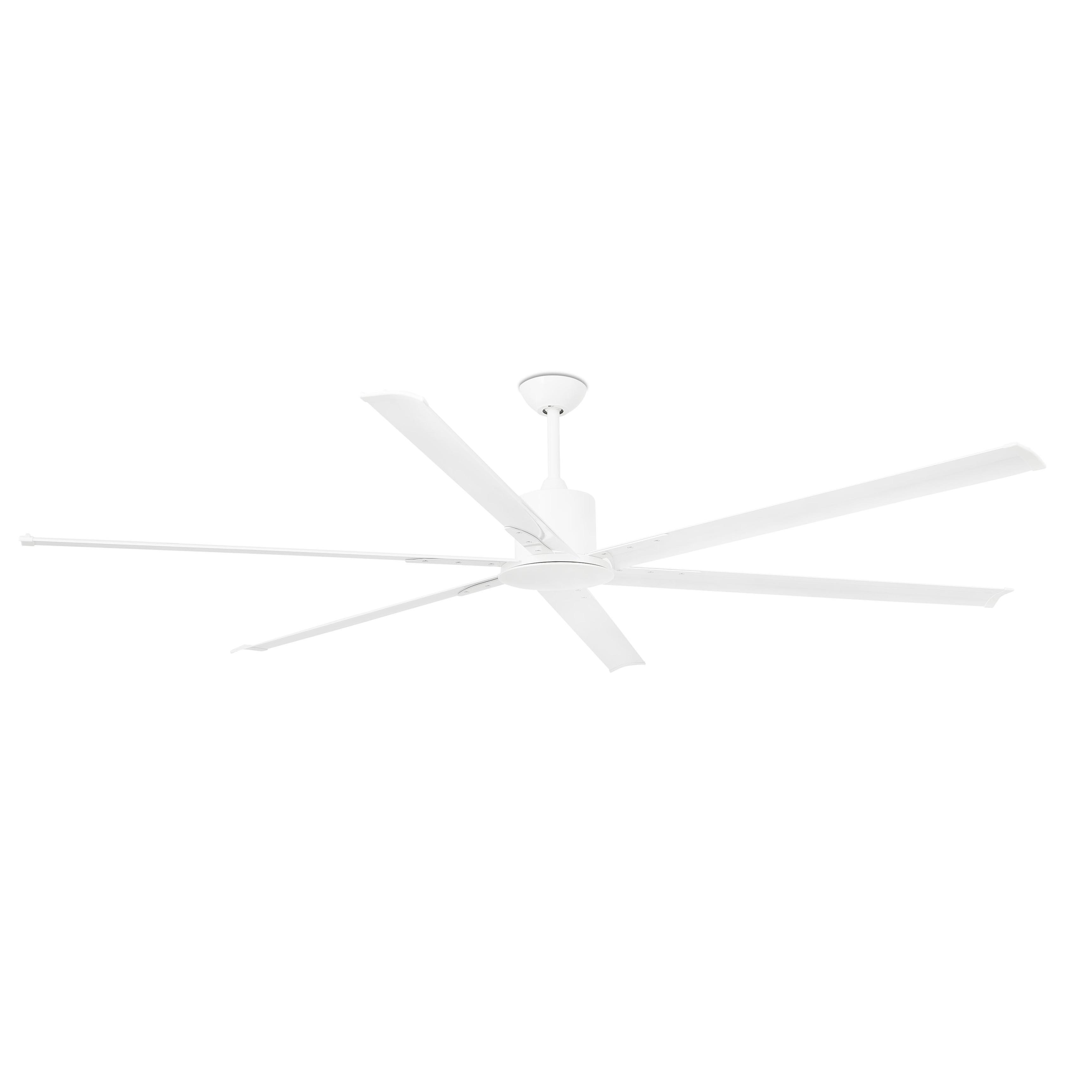 Andros Ventilador ø213cm 6 aspas Blanco