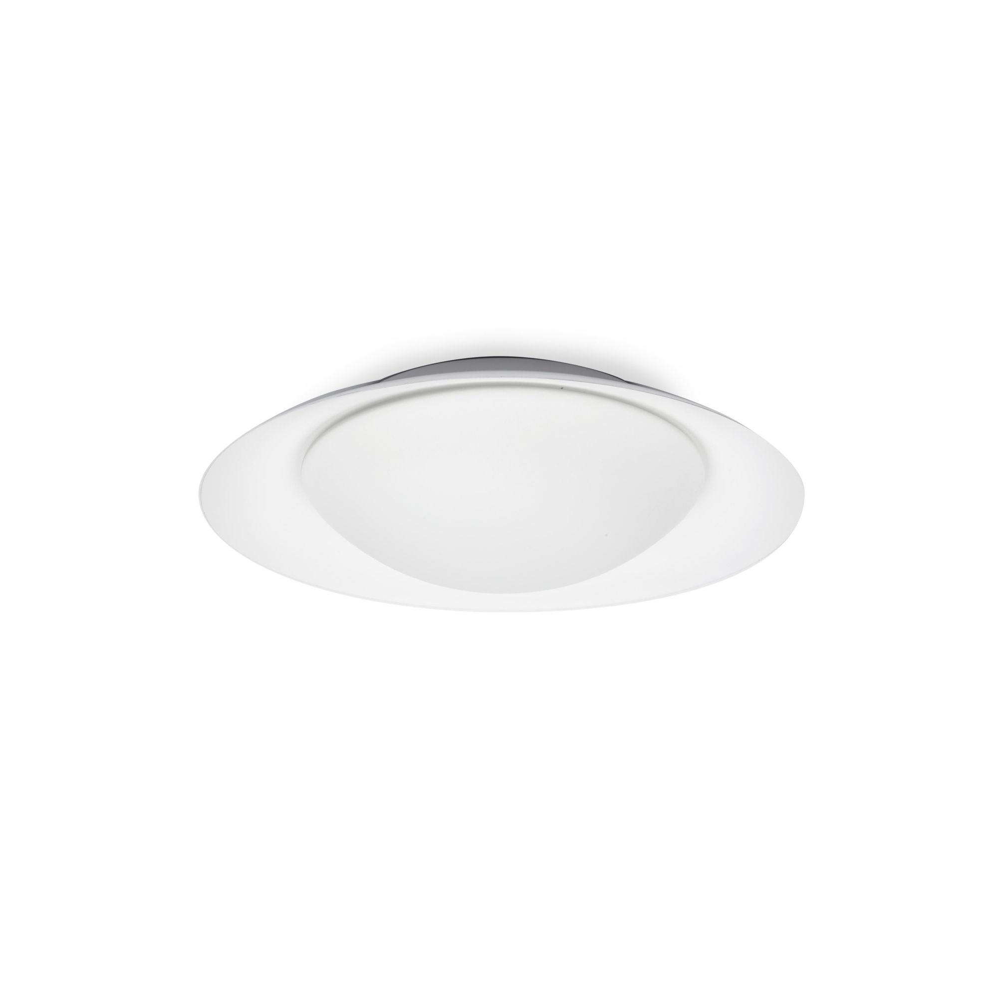 SIDE PLAFON Ø390 BLANCO/BLANCO LED 15W 3000K