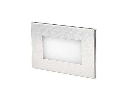 GRON EMPOTRABLE NIQUEL MATE LED 1W