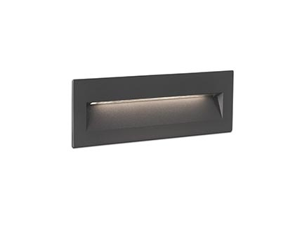 NAT EMPOTRABLE GRIS OSCURO LED 6W 3000K