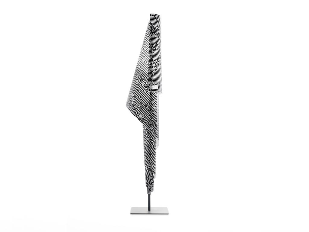 Alta Costura Zuzunaga Lámpara de pie LED 35W 260x50cm Estructura negra pantalla blacklight