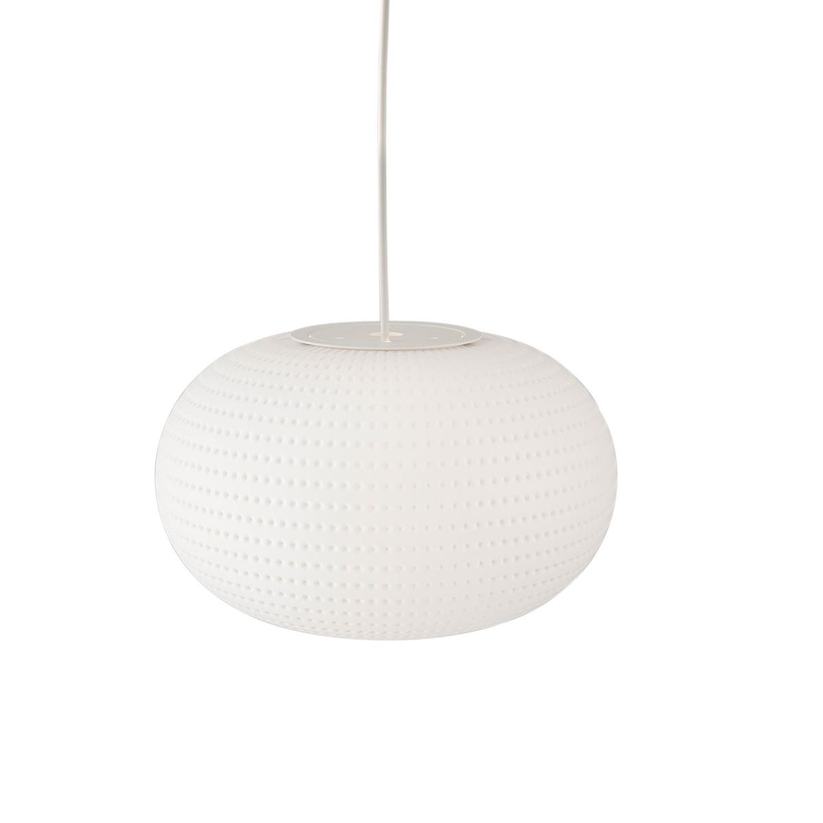 LAMP SOSP BIANCA LARGE E27 BI RAL9002 NO ROSE
