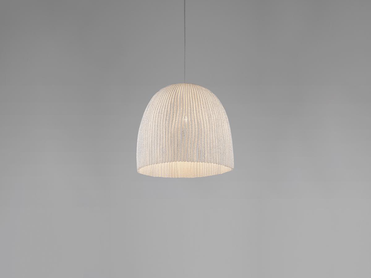 Onn Lámpara colgante LED 18,1W regulable ø36cm Acero inoxidable pintado