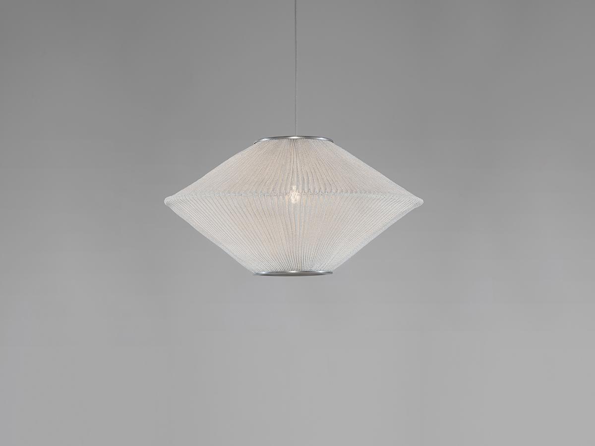 Ura 1 Lámpara colgante ø19,7x78,7cm LED 18,1W Acero inoxidable pintado