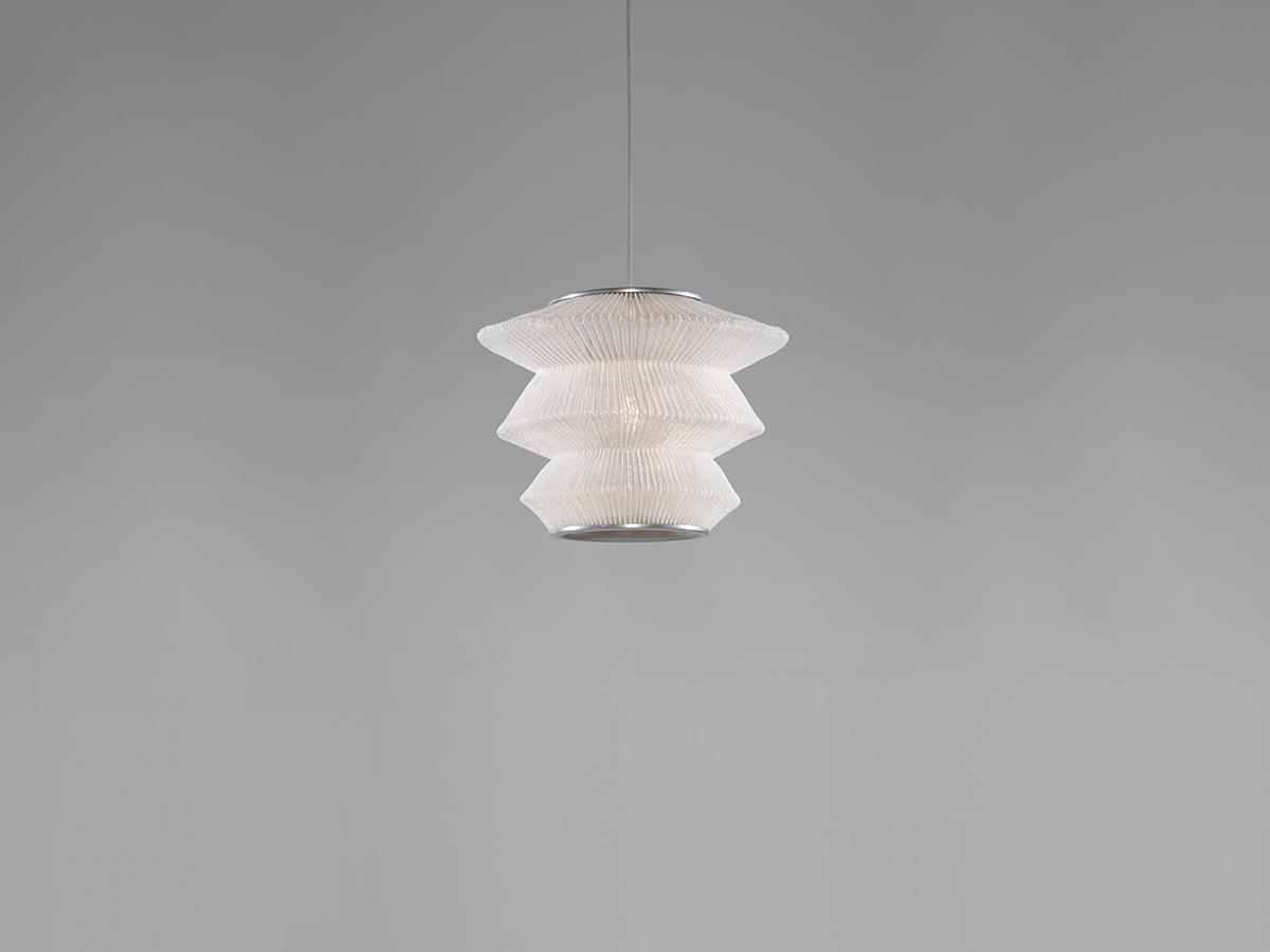 Ura 3 Lámpara colgante ø33x150cm LED 18,1W Acero inoxidable pintado