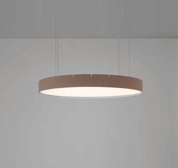 Castle S120 Lámpara colgante LED 82,8W Blanco mate texturado