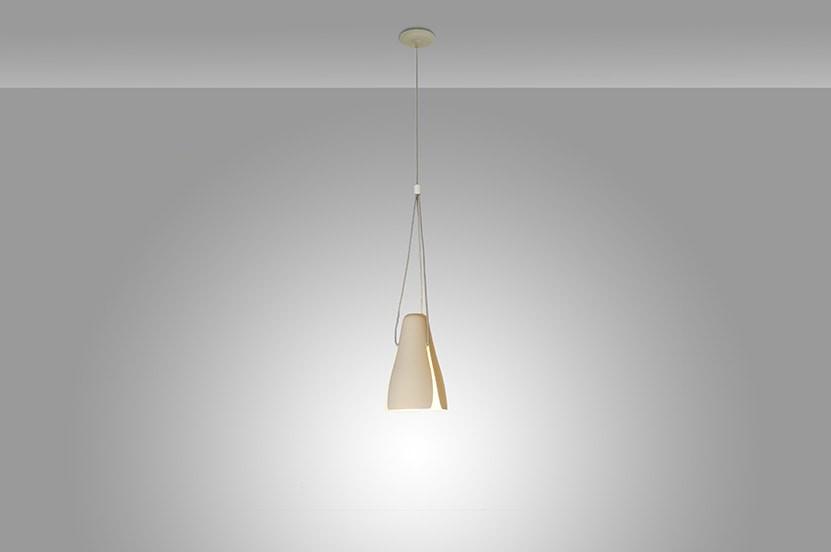 Ginkgo S20 Lámpara colgante LED 2x7W Marrón mate