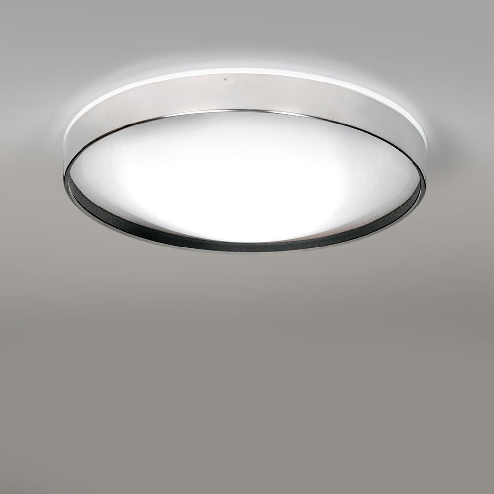 Alina Plafón Ø37 LED E27 2x12W Lacado aluminio interior lacado negro