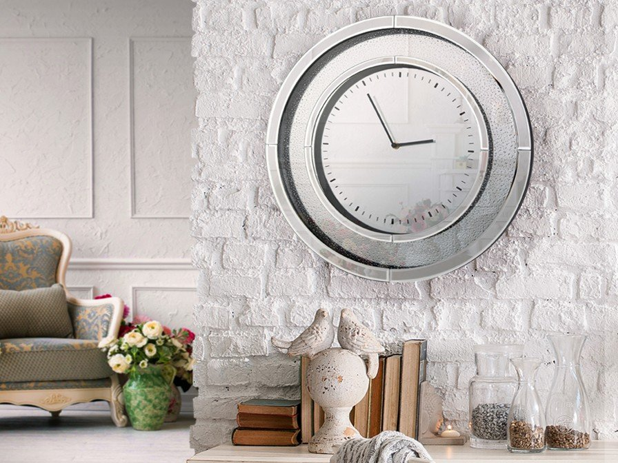 Lluvia Reloj Redondo Ø50