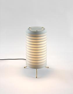 MAIJA LAMPARA DE MESA D.15 ROSA PALO LED