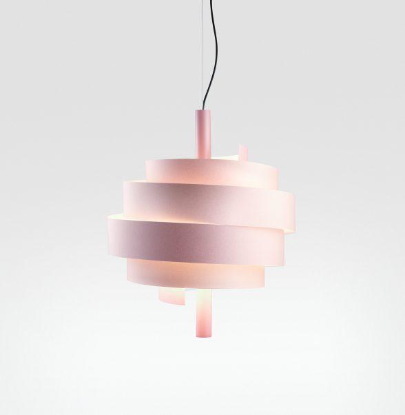 Piola Lámpara Colgante LED 11.7W Rosa