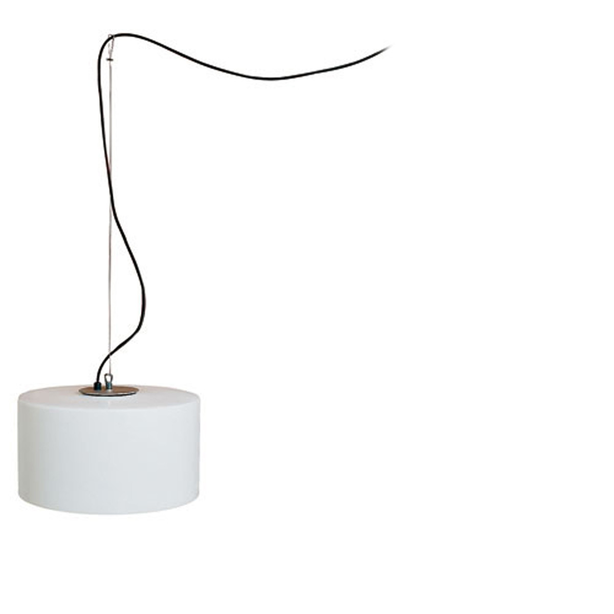 Harry Suspension de plein air E27 23W Blanco