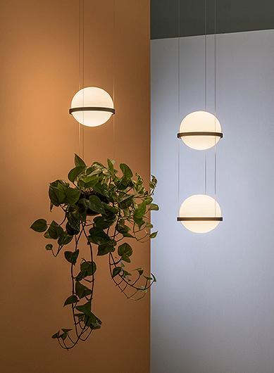 Palma Lámpara Pared 4 × Led - Lacado grafito mate