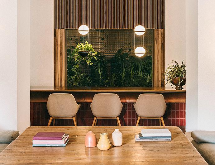 Palma Lámpara Colgante 6 × 1 × LED 2W 500- Lacado grafito mate