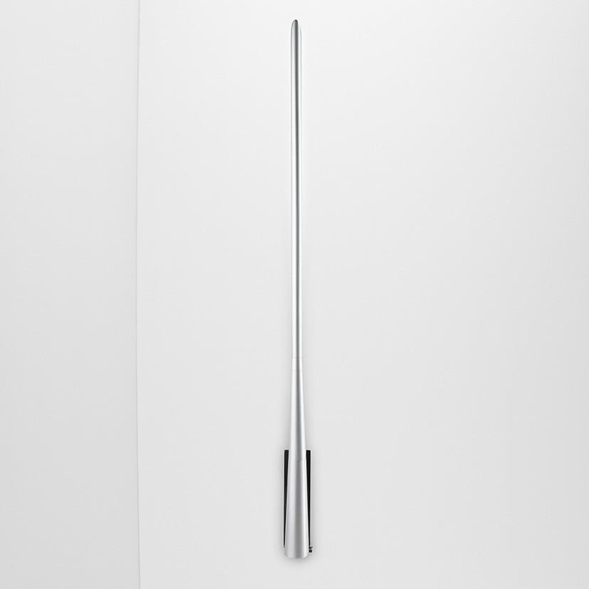 Eliana W2 Wall lampFluo 13W Metallic Grey