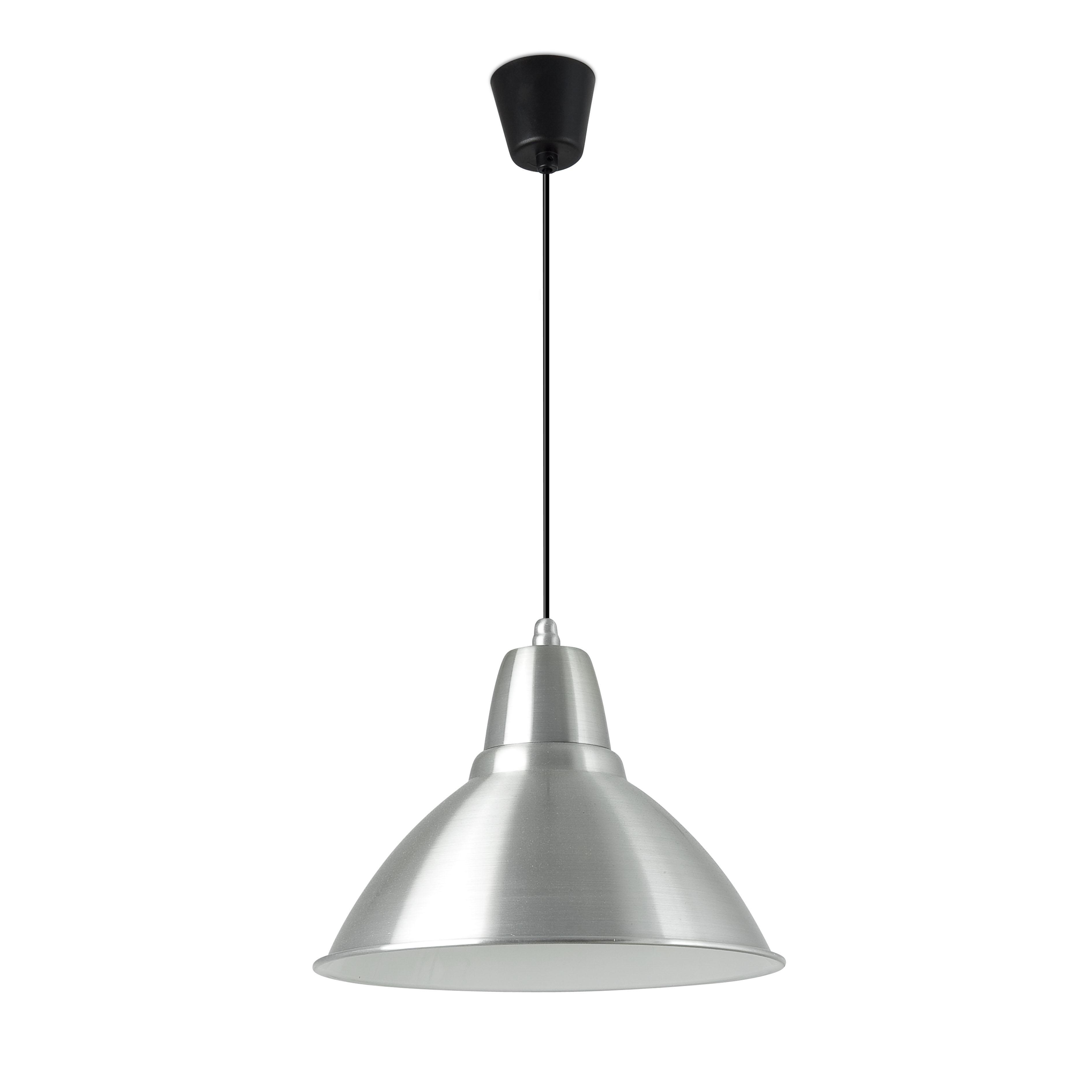Aluminio 1 Lámpara Colgante Aluminio 1xE27 max 75W no incl
