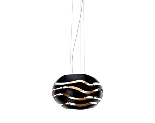 Tree series S75 Pendant Lamp R7s 2x130w - Black indoor Golden