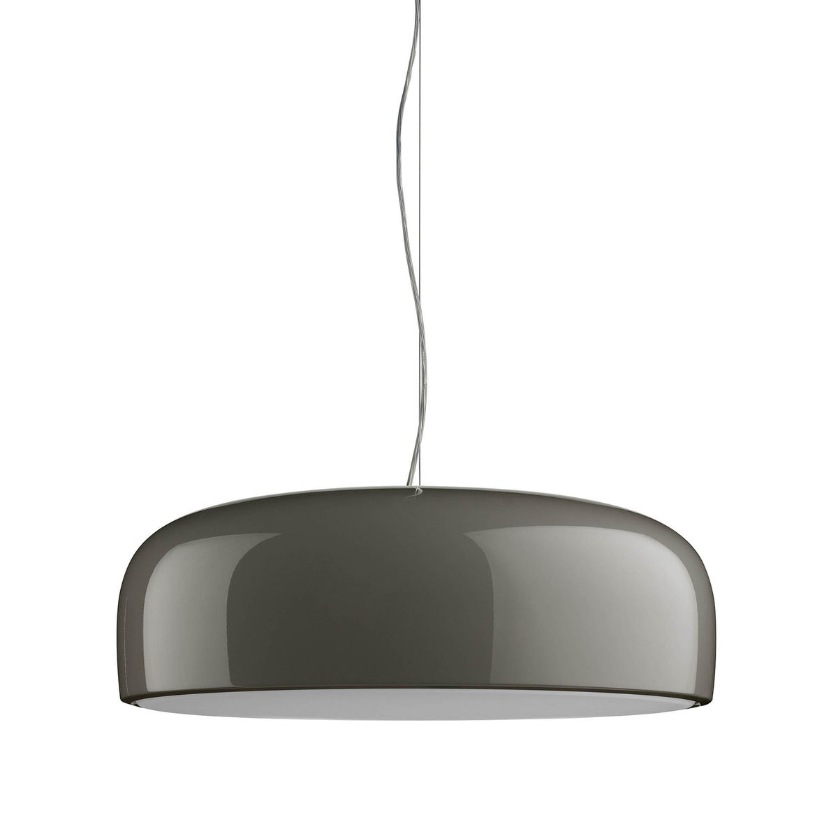 Smithfield S Eco Pendant Lamp dimmable ø60cm 2G11 2x36w Grey Mud